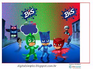 Kit De Super Héroes En Pijamas Para Imprimir Gratis Ideas