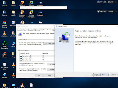 Troubleshoot windows 10 Using system Restore