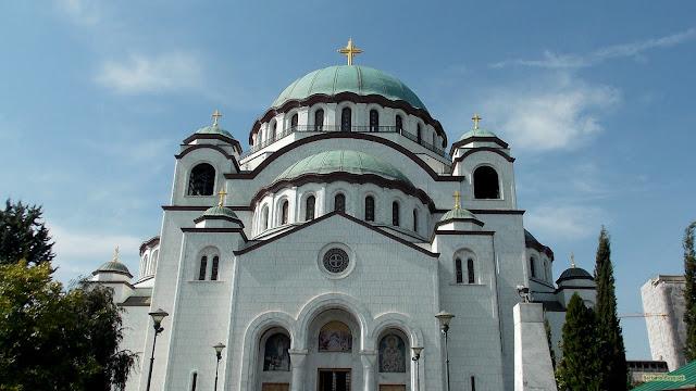 De St. Sava kathedraal in Belgrado.