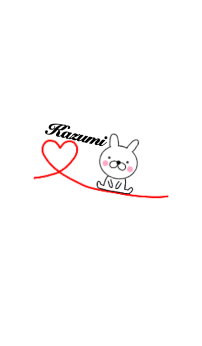 Lovely Rabbit kazumi