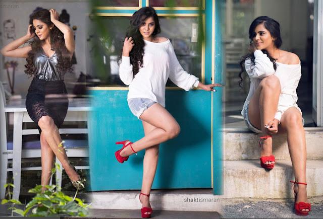 Manasa Himavarsha Hot Photoshoot