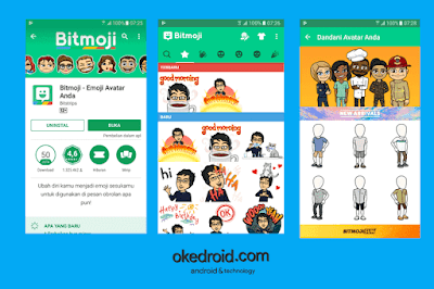 Bitmoji Android Google Play Store