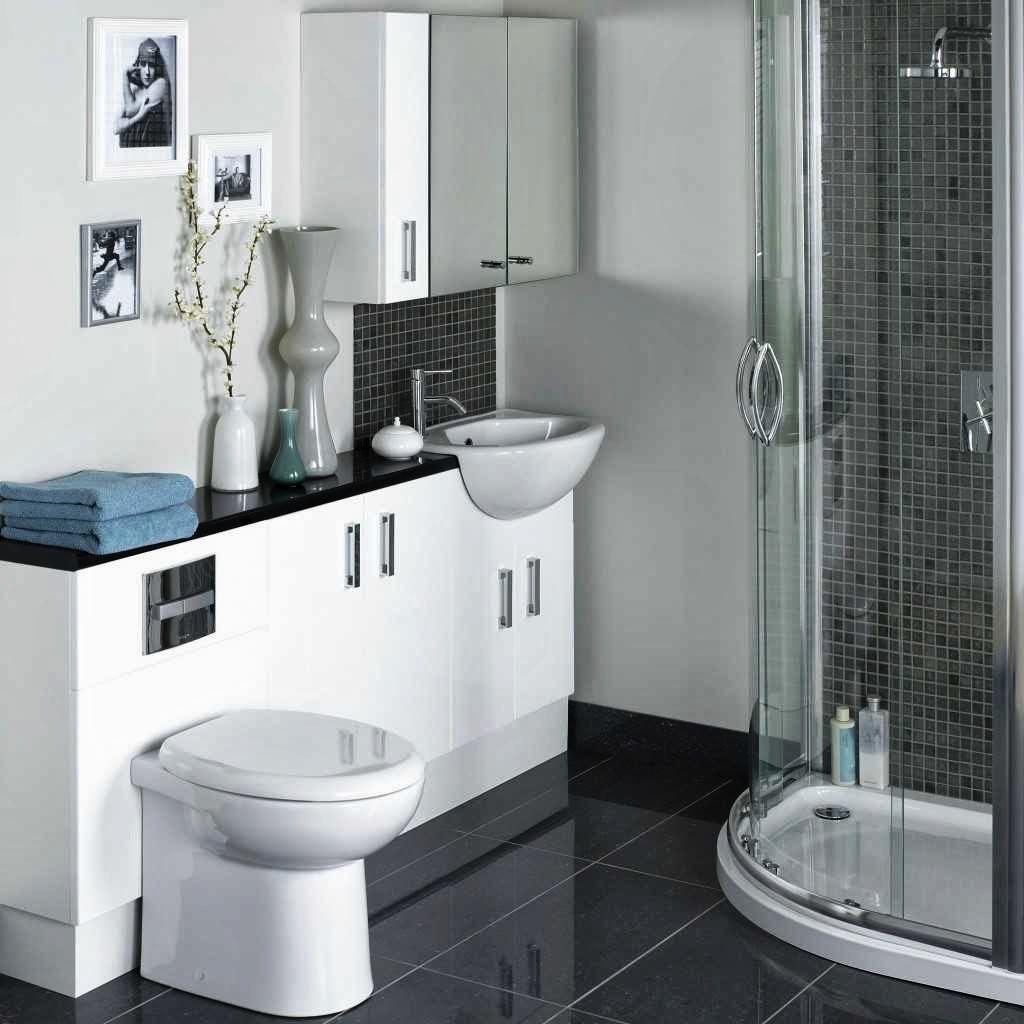 +55 Modern small bathroom design makeover ideas 2019 on Small Bathroom Remodel Ideas 2019  id=64329