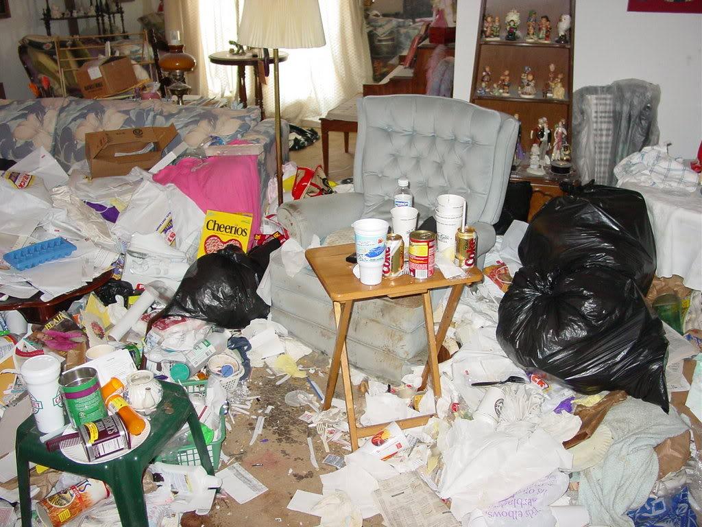image Big mess after meeting at walmart