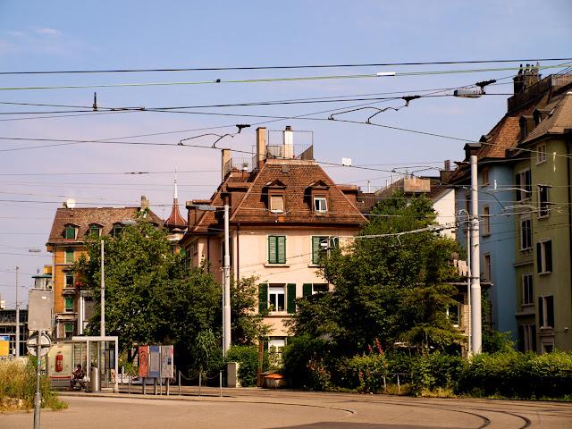 Plaza Goldbrunnen en Zurich