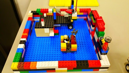 Lego Club @ Hampton Public Library Check out these cool LEGO creations!