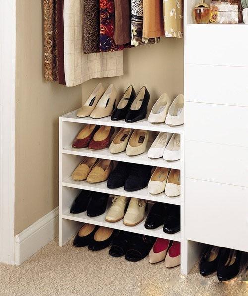 Không nên đặt tủ giày dép trong phòng ngủ