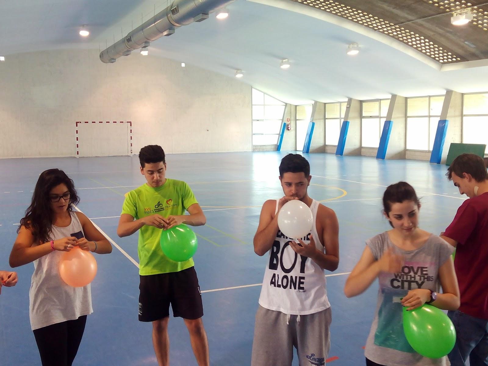 Julio Herrador Educacion Fisica Y Juegos Juegos Con Globos