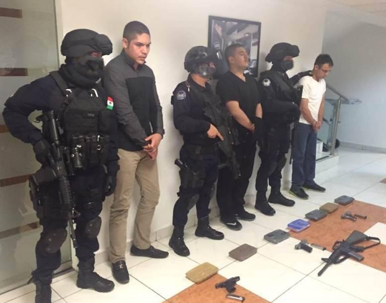 """""""El Karateca"""" jefe de Sicarios del CAF y mando derecha de """"El Piloto"""" Arellano se escondía en instalaciones de la policía estatal"""