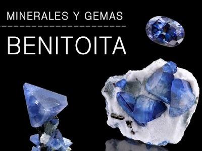 Benitoita - Propiedades y caracteristicas