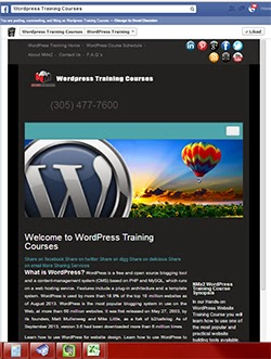 WordPress Training Courses Miami