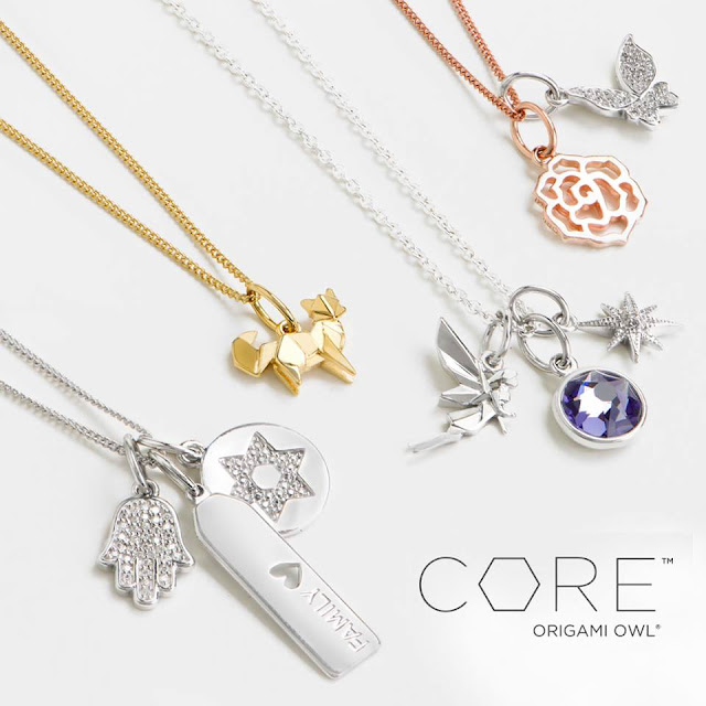 Origami Owl NEW Core Collection Pieces Fall 2016 available at StoriedCharms.com