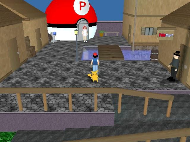 Ilham Wahabi GX: Download Game Pokemon 3D untuk PC!!!