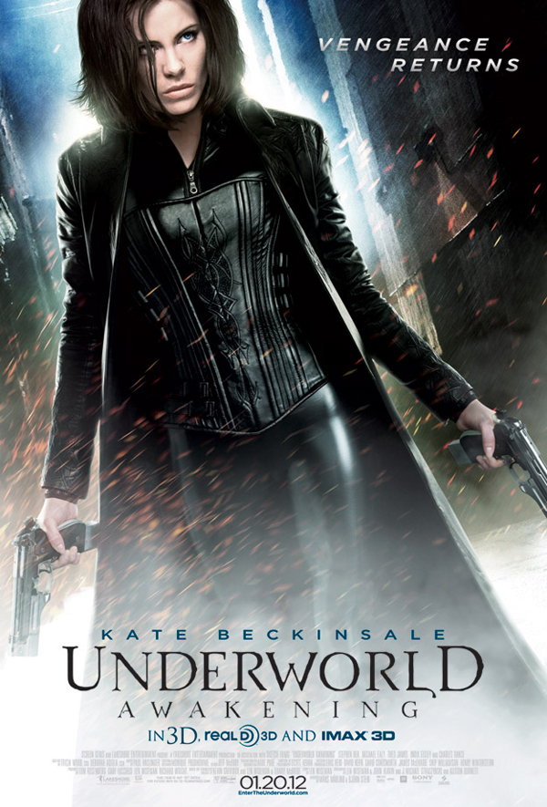 Kate Beckinsale espectacular en el nuevo póster de 'Underwold: Despertar'