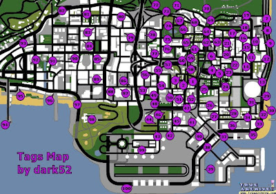 Gta San Andreas Tag Locations also Maxresdefault furthermore Fnrrjxp in addition Maxresdefault further Hqdefault. on gta 4 secret locations map