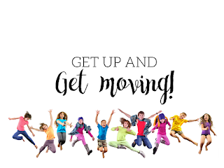 Get up and get moving: Great ideas to get kids moving during your music lessons!