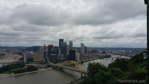 View at top of the Duquesne Incline