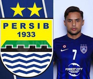 Pemain Malaysia Aidil Zafuan Dikabarkan Gabung Persib Bandung Musim 2019