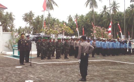 AKBP. Eddy Suryantha Tarigan S.IK Irup Upacara Ziarah Nasional, Di TMP. Barugaia