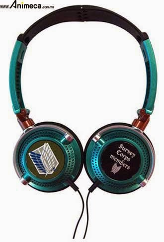 Survey Corps HEADPHONE Shingeki no Kyojin