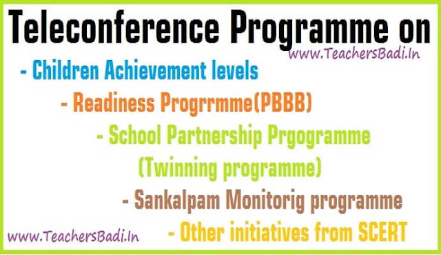 Teleconference,Phade Bharat-Bhade Bharat(PBBB),Readiness Progrrmme