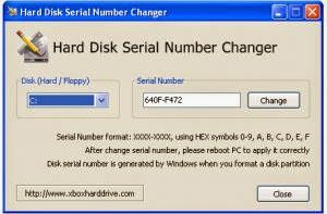 TutoGanga: Hard Disk Serial Number Changer