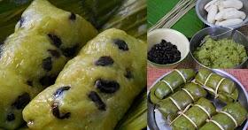 แจกวิธีทำข้าวต้มมัดข้าวเม่า ขนมไทยหาทานยาก ทำขายได้เลย