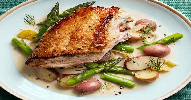 Creamy Asparagus Chicken Recipe