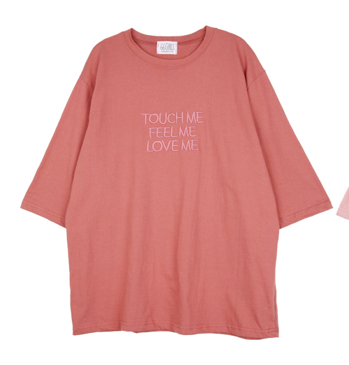 3/4 Sleeve Statement T-Shirt