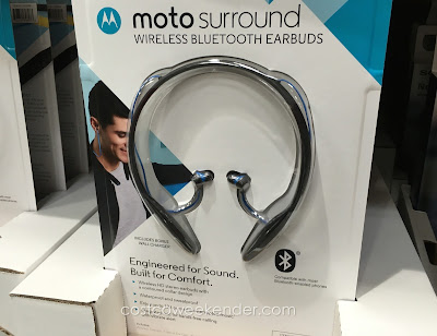Motorola Moto Surround Wireless Bluetooth Earbuds - Engineered for sound, built for comfort