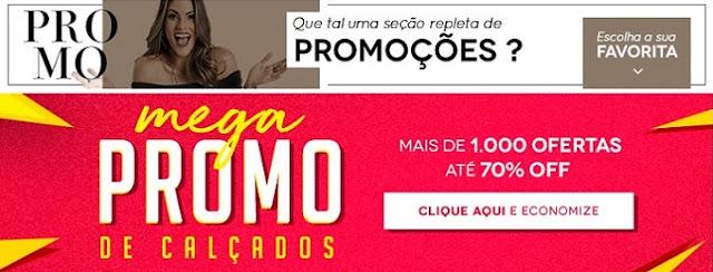 Promoção de Calçados Femininos com Frete único e preços super acessíveis