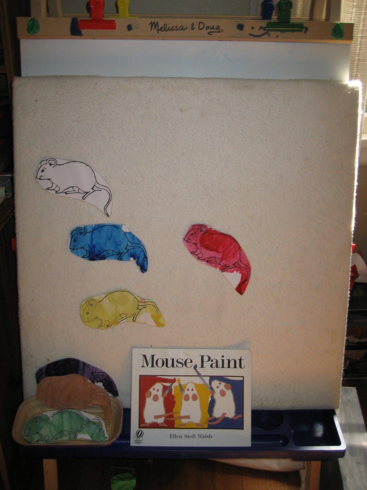 The Preschool Experiment Color Mixing