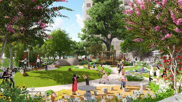 Vườn tuổi thơ - Anland Complex