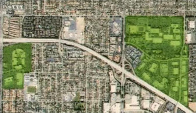 Original HP Cupertino site before bulldozed for new Apple headquarters