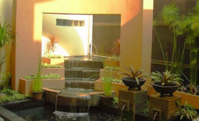 taman kecil didalam rumah type 36