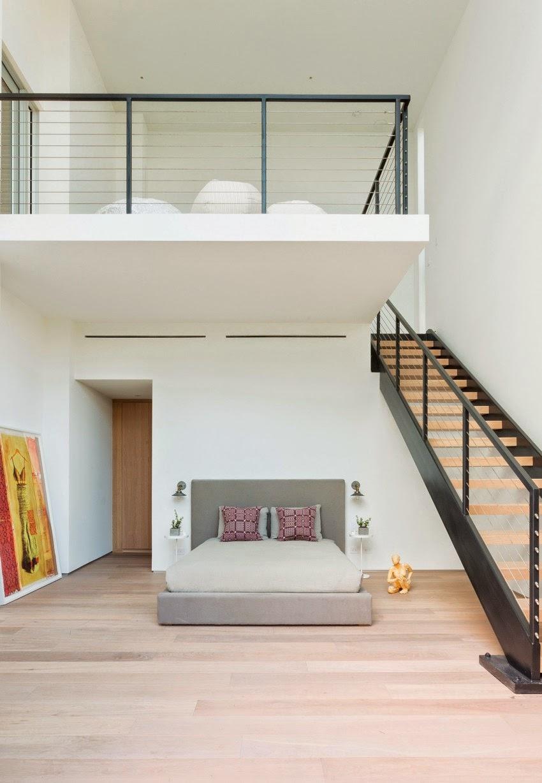 Hogares frescos casa moderna de concreto dise ada por max for Casa moderna de 7 por 15