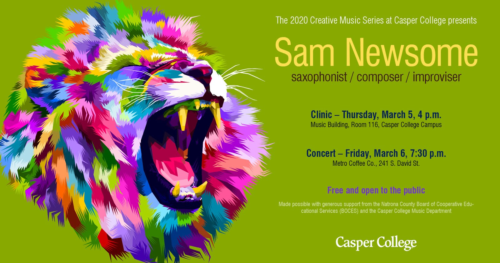 Casper College Creative Music Series