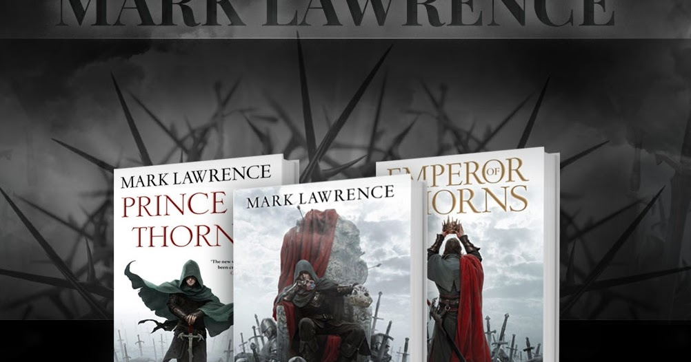 Mark Lawrence sells his millionth novel