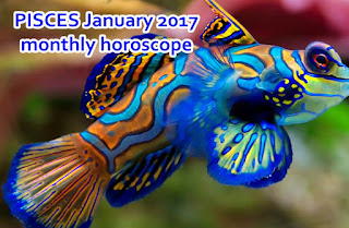 PISCES January 2017 monthly horoscope zone
