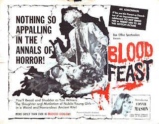 Poster Blood Feast 1963