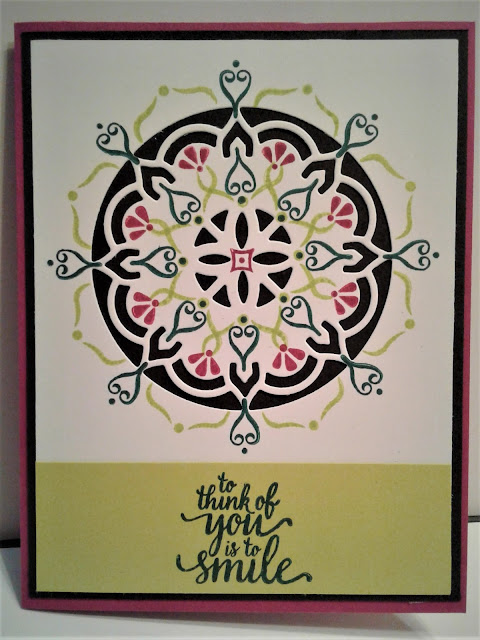 Eastern Beauty, Stampin Up, SU, Berry Burst, 2017-2019 Catalog