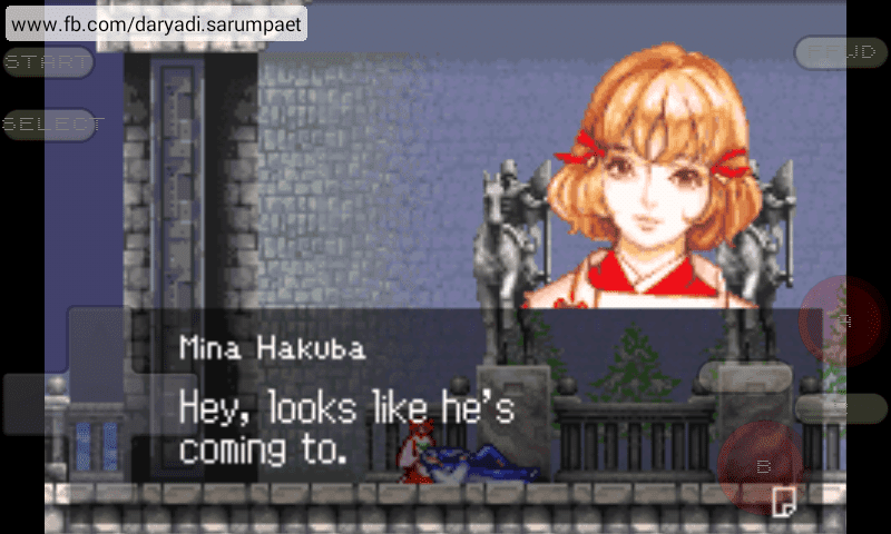 Castlevania Aria of Sorrow GBA Game on Emulator | Indotechboy