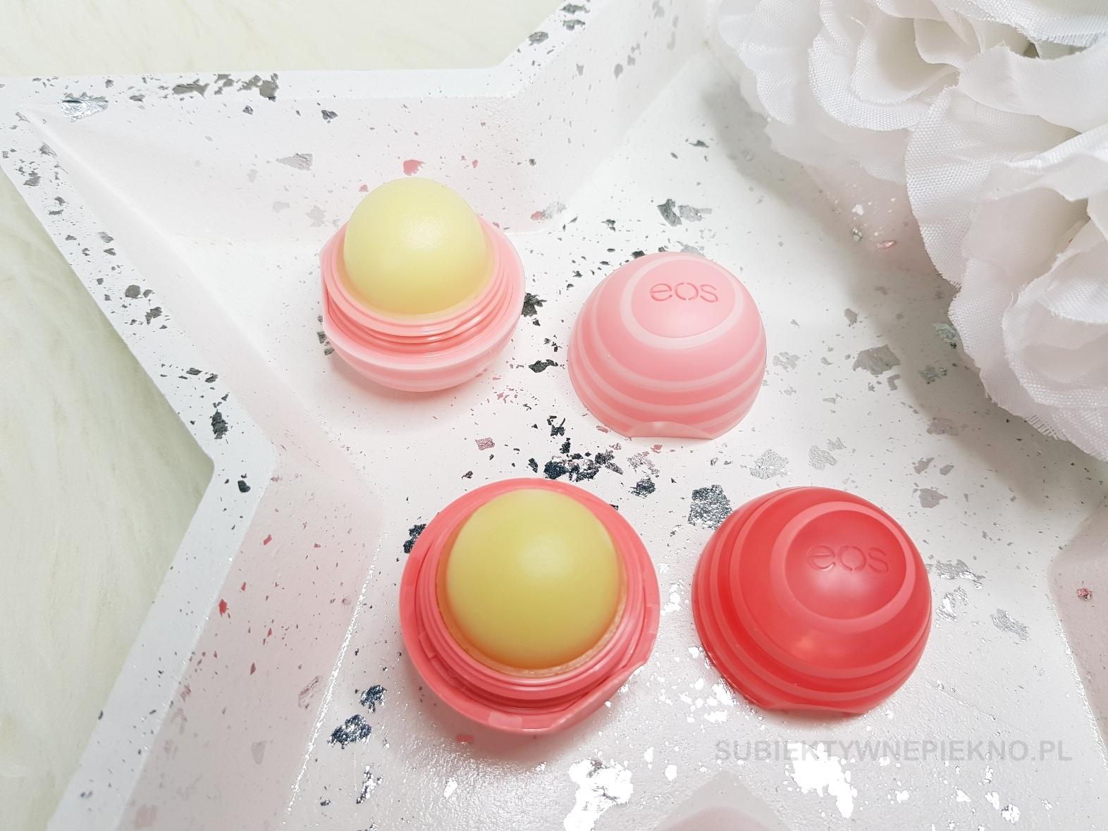 Balsam do ust EOS Coconut Milk i Fresh Grapefruit - skład, recenzja, opinie, blog