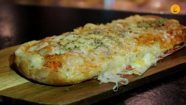 Saltimbocca a los 4 quesos El Trajín Madrid