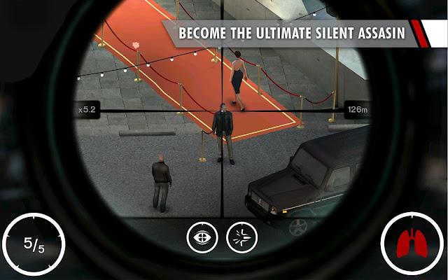 Hitman: Sniper v1.7.91870 MOD APK+DATA (Unlimityed Money) Terbaru