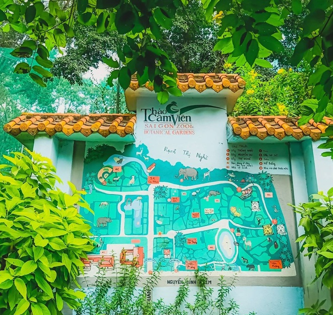 Loài chim nào được chọn làm biểu tượng của Thảo Cầm Viên Sài Gòn?