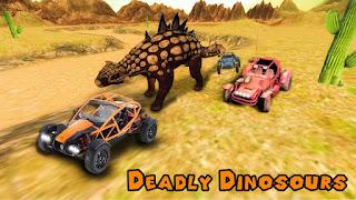 Dino World Car Racing Mod