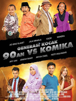 Download Film Generasi Kocak: 90-an vs Komika (2017) DVDRip Full HD Movie