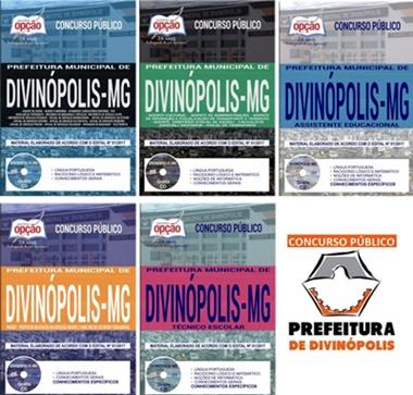 Concurso Prefeitura de Divinópolis - MG