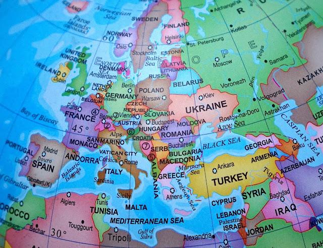 Europe map, European Countries Map, Europe, Map of Europe, European Union, European Union map
